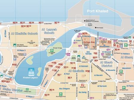 Abu Dhabi City Map Exploring Abu Dhabi to the fullest