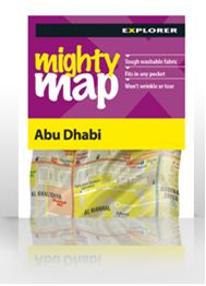 City Map of Abu Dhabi