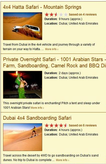 Cheap Tours to Dubai